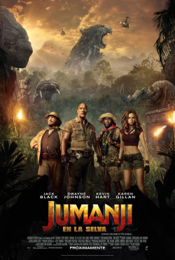 Jumanji - Afiche